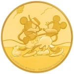 Niue Islands 25 Dollar Disney: Mickey - Gallopin Gaucho,...