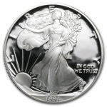 1 Unze Silber American Eagle 1991 USA Proof