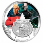 Tuvalu 1 Oz Silber Star Trek TNG The Next Generation 2017...