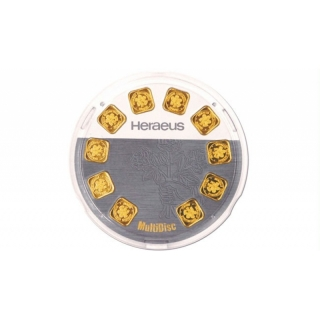 10 g Goldbarren Heraeus Multidisc 999,99