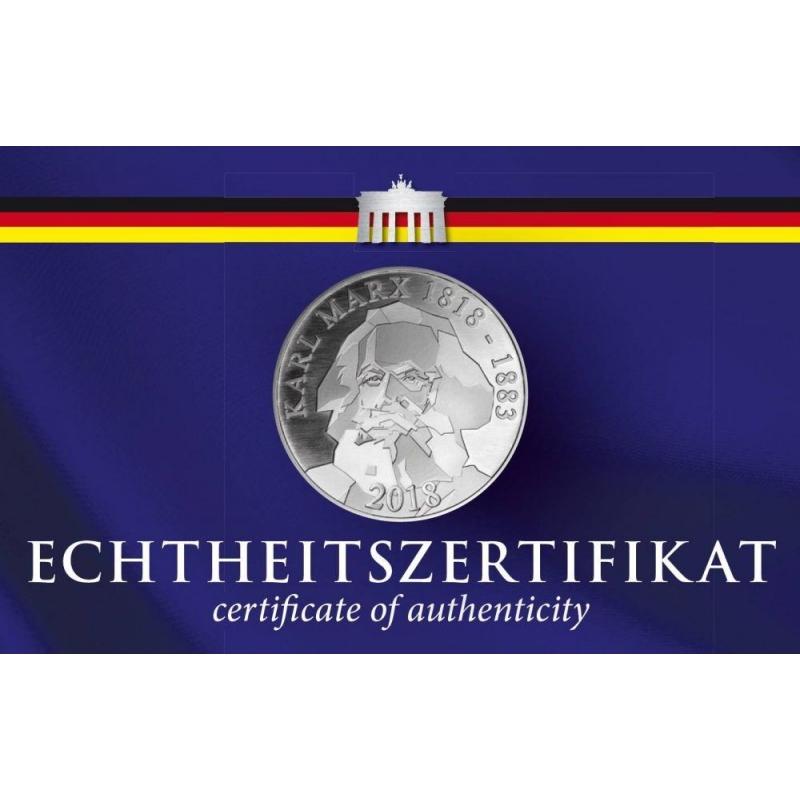 1 Kilo Silber Münze Berlin 200 Geburtstag Karl Marx 2018 798