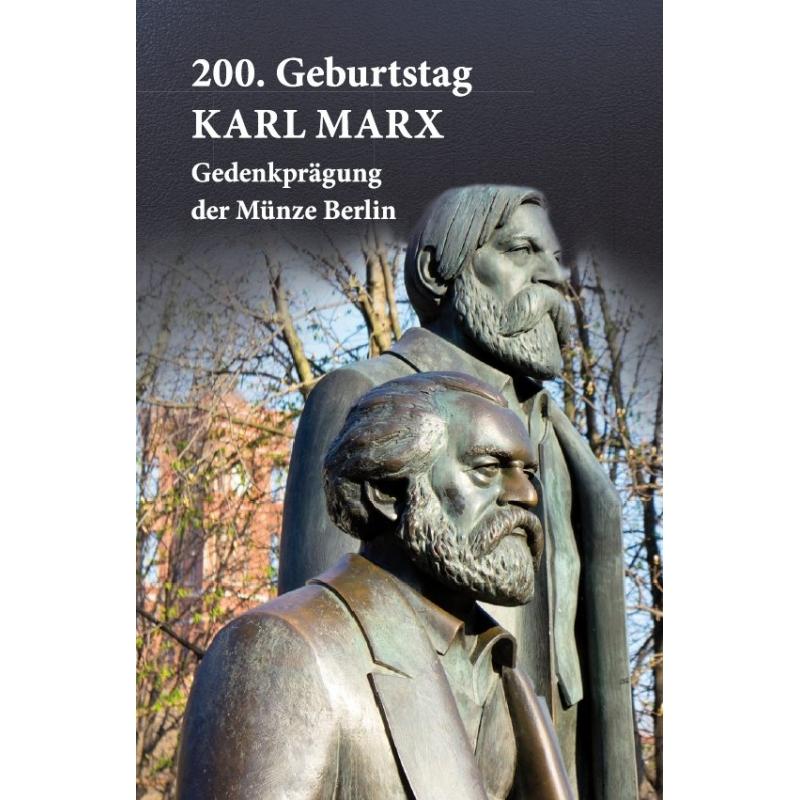 1 Oz Silber Münze Berlin 200 Geburtstag Karl Marx 2018 3490
