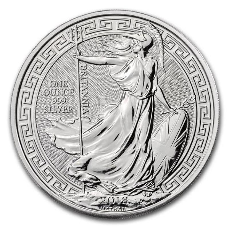 1 Unze Silber Britannia 2018 Großbritannien Oriental Border 19