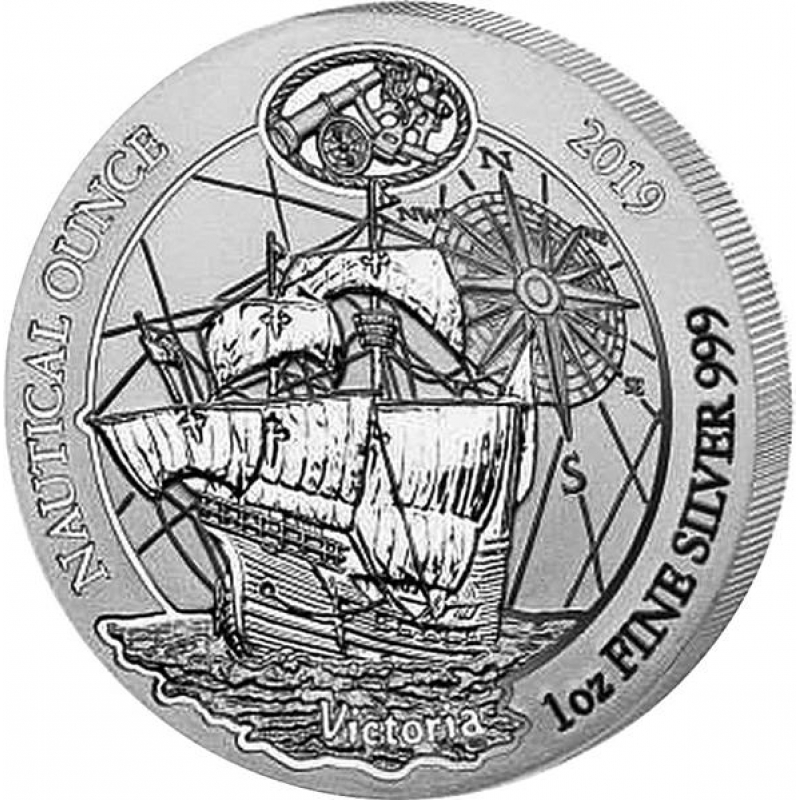 50 Graduation Commence Mints 2019 Or 2020 Graduation: 1 Oz Silver Rwanda Nautical Ounce HMS Victoria 2019 Proof