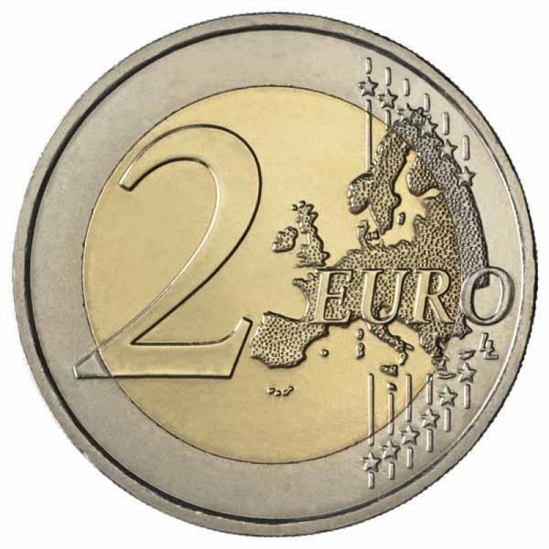 2 Euro Frankreich 2013 50 Jahre Elysee Vertrag Unc 429 Aur