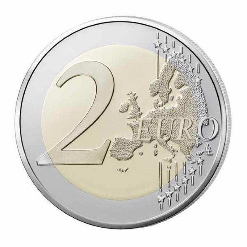 2 Euro Frankreich 2015 70 Jahre Frieden In Europa Unc 349