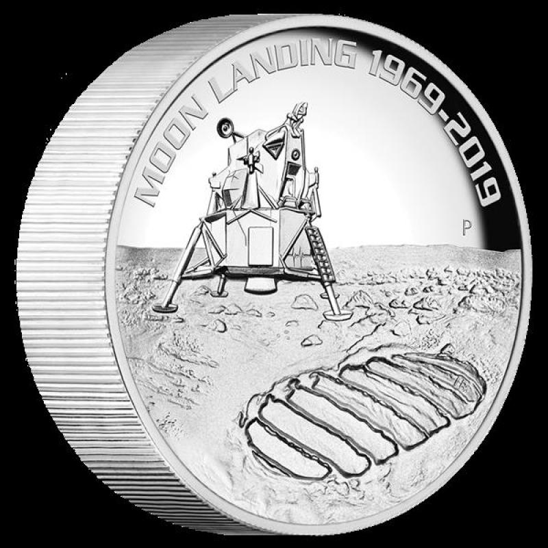 5 Oz Silver Apollo 11