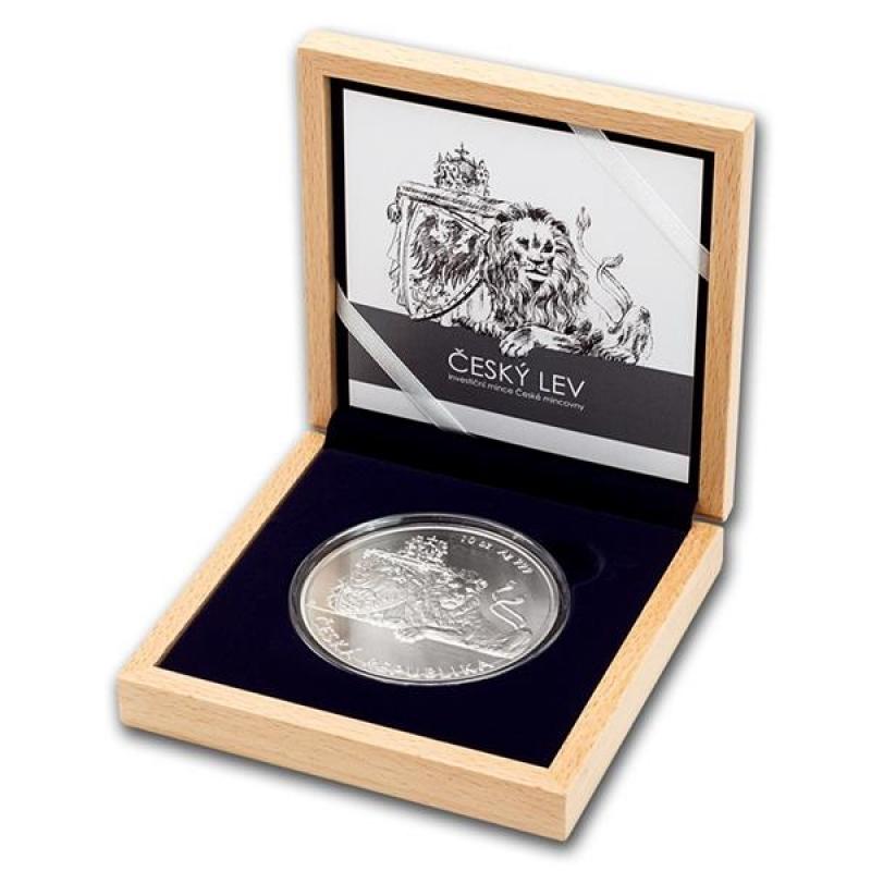 Niue Islands 25 Dollar Czech Lion Tschechischer Löwe 2018 1