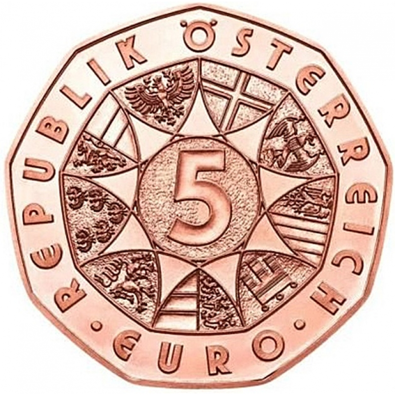 österreich 5 Euro Kupfer Frühlingserwachen Frohe Ostern Os