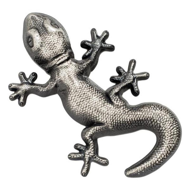 Palau 2018 5 1 Oz Silber Gecko Münze In Geckoform Silber A