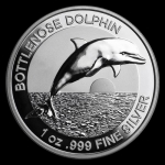 2019 AUS 1 oz Silver $1 Dolphin Proof (High Relief, w/Box...