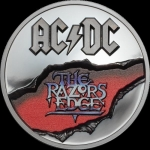 10 $ 2019 Cook Islands - 2 Oz Silber AC/DC - The Razors...