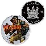 Fiji 2020 1 $ Dollar 1 Oz Silber Wolverine Marvel Proof