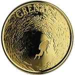 2019 Grenada 1 oz Gold Diving Paradise (02)  EC8