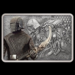 2021 $2 Star Wars: Guards of the Empire - Knights of Ren 1 Oz Silver Coin Antique