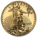 1/10 oz Gold American Eagle Brilliant Uncirculated Random...