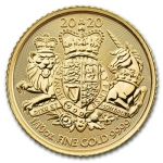 2020 Great Britain 1/10 oz Gold The Royal Arms BU