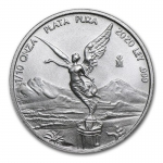 1/10 Oz Silver Mexico Libertad 1/10 Oz 2020 Brilliant...