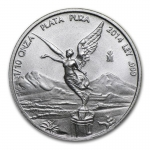 1/10 Oz Silver Mexico Libertad 1/10 Oz Random Year...