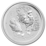 1 oz Silver Australian Lunar Year of the Rooster Coin...