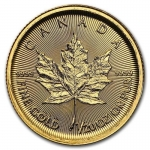 1/20 oz Gold Canadian Maple Leaf Brilliant Uncirculated 2017