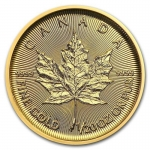 1/20 oz Gold Canadian Maple Leaf Brilliant Uncirculated 2018