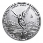 1/20 Oz Silver Mexico Libertad 1/20 Oz 2015 Brilliant...