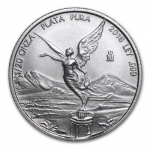 1/20 Oz Silver Mexico Libertad 1/20 Oz 2016 Brilliant Uncirculated