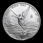 1/20 Oz Silver Mexico Libertad 1/20 Oz 2019 Brilliant...