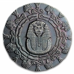 1/4 oz Silver Round - Monarch Precious Metals (King Tut)