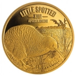 1/4 Unze Gold Kiwi 2018 Zwergkiwi Little Spotted Kiwi...
