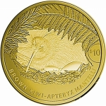1/4 Unze Gold Kiwi 2021  Brown Kiwii Neuseeland Proof in Box