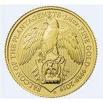 1/4 Unze Gold Queens Beast Falcon of the Plantagenets...
