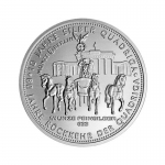 1/4 Oz Silver Germania Quadriga 2018  999,99