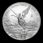 1/4 Oz Silver Mexico Libertad 1/4 Oz 2019 Brilliant...