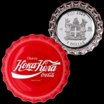 1 $ Dollar Coca Cola Global Edition Russland Bottle Cap...