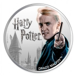 1 $ Dollar Harry Potter Draco Malfoy  Fiji 1 Oz Silber...