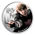 1 $ Dollar Harry Potter Ron Weasley  Fiji 1 Oz Silber...