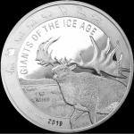 2019 Republic of Ghana 1 Kilo Silver Giants of the Ice...