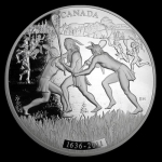 2011 Canada 1 kilo Silver $250 375th Anniv of Lacrosse...