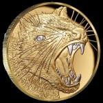 2020 $100 Niue Tasmanian Devil 2020 1 oz Gold Wildlife...