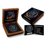 1 Oz Maple Leaf Grim Reaper ARMAGEDDON Canada Ruthenium...