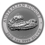 "1 Oz Silber Australian Nugget ""Hand of Faith""..."