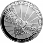 1 Oz Silber Australian Wedge Tailed Eagle 2019 original PM-Kapsel 1 AUD BU