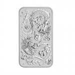 1 Oz Silber Drachen Dragon Rectangular 2020 Australien...
