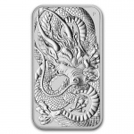 1 Oz Silber Drachen Dragon Rectangular 2021 Australien...