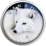 1 oz Silver Canadian Maple Leaf 2021  Canadas Wildlife...