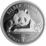 1 Oz Silver Panda 2019 Berlin Mint in coincard