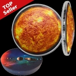 1 USD Silver Solar System (1) - The Sun Dom Shaped USA...
