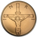 1 oz Copper Round - Crucifixion .999